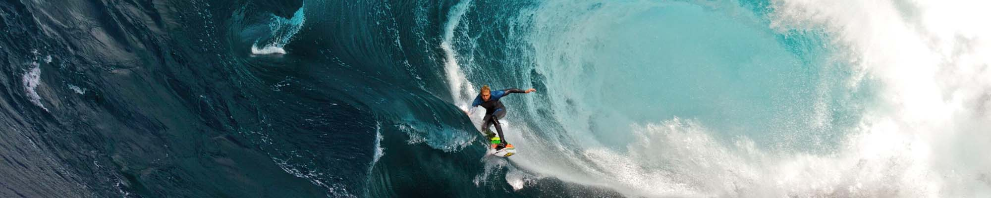 Venture capital, just like catching the perfect wave